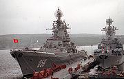 Nuclear cruiser Kirov