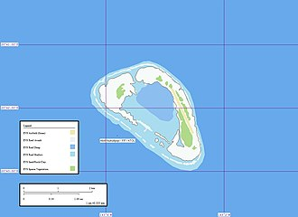 Nukutepipi - Map of Nukutepipi Atoll