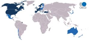 Pays membres de l'OCDE