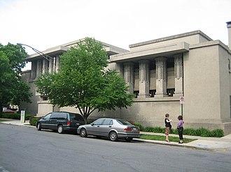 Unity Temple - Image: Oak Park Il Unity Temple 9