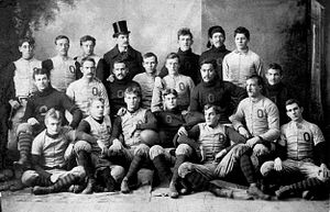 Oberlin College - Oberlin's football team in 1892