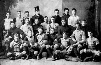 John Heisman - The 1892 Oberlin football team: Heisman on the left in the middle row.