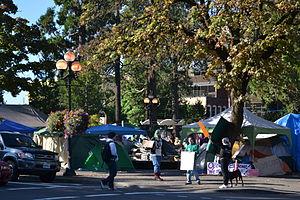 Occupy Eugene - Image: Occupy Eugene