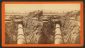 Oct. 31, 1877. View of gates on Sudbury River pipeline below effluent gate house, Chestnut Hill Reservoir, looking south, from Robert N. Dennis collection of stereoscopic views.png