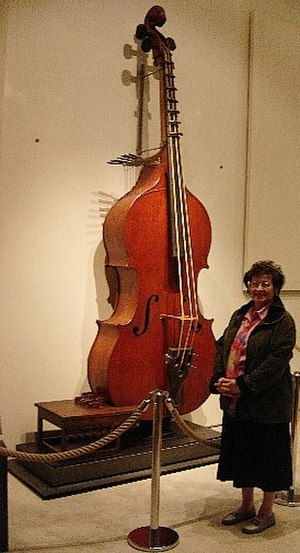 Violin family - An octobass