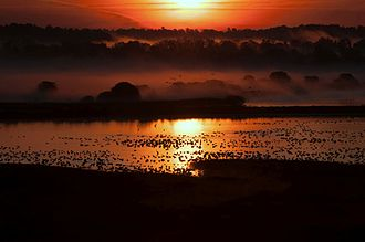 Montezuma National Wildlife Refuge - Sunrise over Knox Marsh