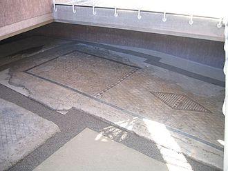 Oderzo - Remains of a Roman villa in the Roman Forum
