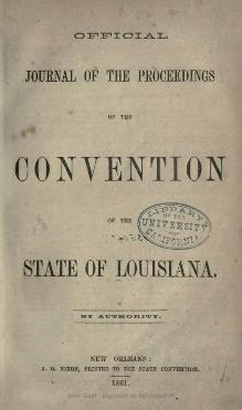 Official Journal of the Louisiana Convention.djvu