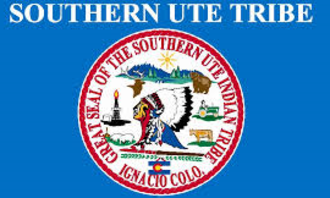 Southern Ute Indian Reservation - Official Ute tribe flag