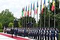 Official welcoming ceremony held for Moldovan president Igor Dodon 7.jpg