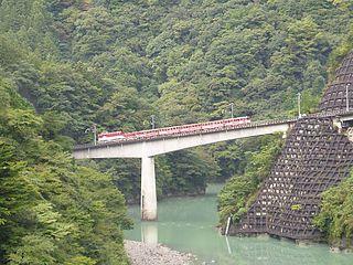 Ōigawa Railway Ikawa Line railway line in Shizuoka prefecture, Japan