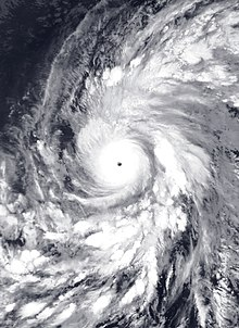 Hurricane Olaf, the southernmost Category 4 hurricane in the basin on record