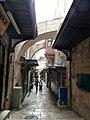 Old Jerusalem Via Dolorosa between 5th and 6th station.jpg
