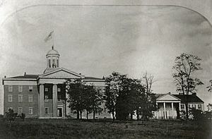 Pennsylvania College Cases - Image: Old Main 1850