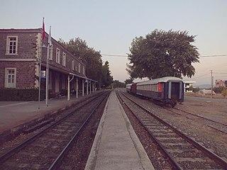 Pancar railway station railway station in İzmir