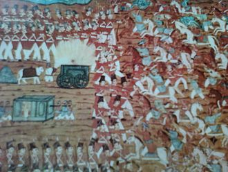 Indian painting - Painting of Mysore style during Tippu Sultan period