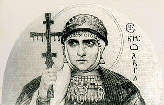 Order of Princess Olga - Olga of Kiev.
