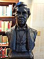 Oliver Wendell Holmes by Richard Edwin Brooks, 1896, bronze - Boston Public Library - Boston, MA - 20180602 134648.jpg