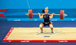 Olympics 2012 Women's 75kg Weightlifting.jpg