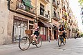 On the bike through the neighborhoods of Barcelona.jpg