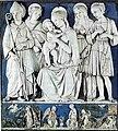 Oratorio del buonconsiglio, madonna col bambino e santi, bottega di andrea della robbia.jpg