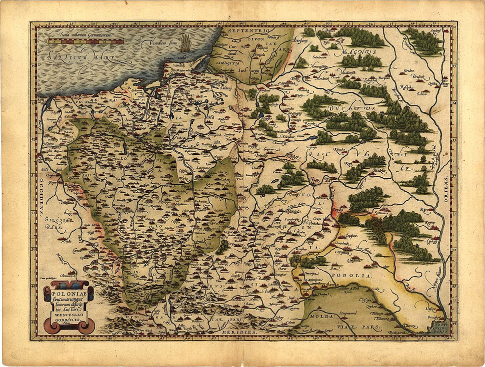 Ortelius Lithuania