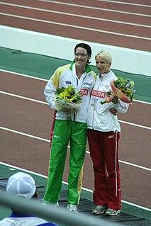 Anna Jesień Polish hurdler