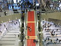 Osaka Station City Stairs with the ornament of Christmas.JPG
