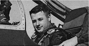 Oscar Randolph Fladmark - Image: Oscar Randolph Fladmark, Jr in his aircraft in 1954