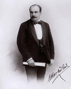 Oskar Nedbal - Oskar Nedbal, 1901, portrait by Šechtl and Voseček studios