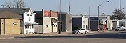 Osmond, Nebraska E side State Street S from 4th.JPG