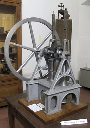 Eugenio Barsanti - Model of the Barsanti-Matteucci engine in the Osservatorio Ximeniano in Florence