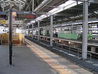 Ōta Station (Gunma) - Platforms