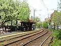 Outbound platform at Coolidge Corner, May 2015.JPG