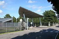 Outokumpu HDQTRS gate and canopy.jpg