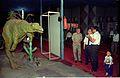 Oviraptor with Goto and NCSM Dignitaries - Dinosaurs Alive Exhibition - Science City - Calcutta 1995-06-15 255.JPG