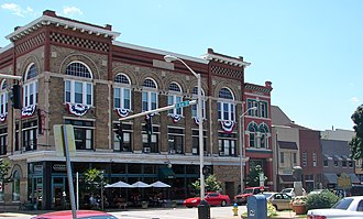Owensboro, Kentucky - Historic District in downtown Owensboro