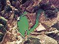 Oyodogawa II power station secondary reservoir survey 1974.jpg