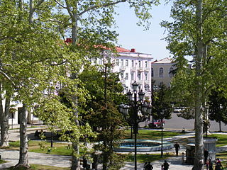 Ozurgeti city center.JPG