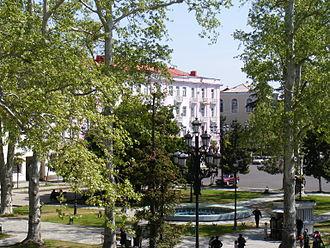 Ozurgeti - Ozurgeti city center