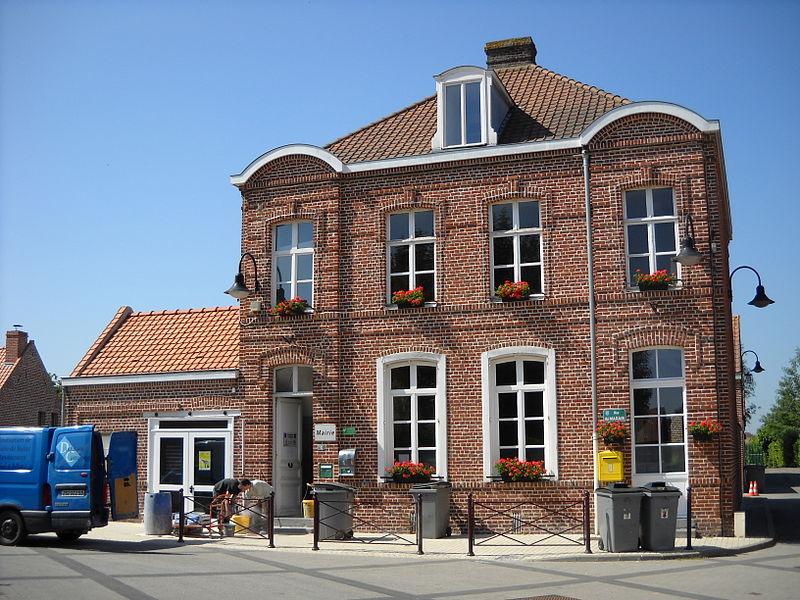 Péronne-en-Mélantois - Town hall.JPG