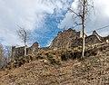Pörtschach Leonstein Burgruine nordöstliche Schildmauer 29032020 8616.jpg