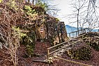 Pörtschach Leonstein Gloriette-Wanderweg W-Aufgang mit Geländer 30012018 2589.jpg