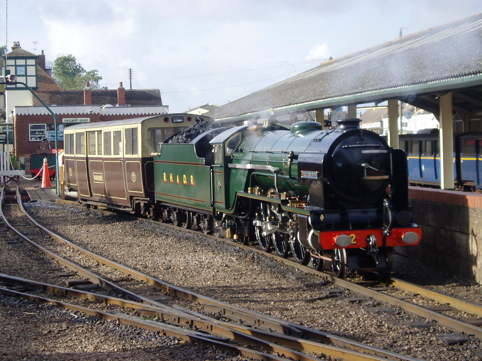 Romney Hythe And Dymchurch Railway Wikipedia