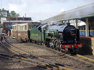 Romney, Hythe and Dymchurch Railway - 'Northern Chief' at New Romney
