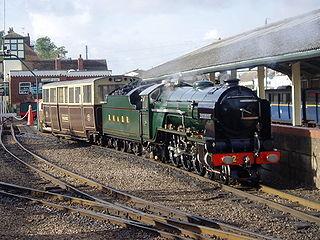 Romney, Hythe and Dymchurch Railway Light railway in Kent, England