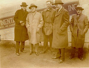 Transcontinental Air Transport - Lindbergh with TAT executives
