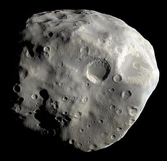 Epimetheus (moon) - As imaged by Cassini on 3 December 2007