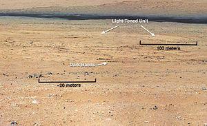 Glenelg, Mars - Image: PIA16150 fig 1 Mars Curiosity Rover Glenelg Terrain