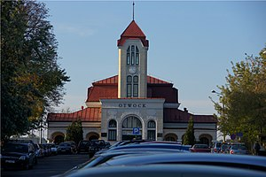 Otwock railway station - Image: PKP Otwock